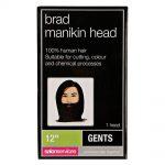 salon services manikin head with beard