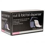 salon services salon service cut and fold dispenser