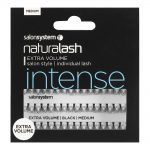 naturalash salon system extra volume individual lashes medium black