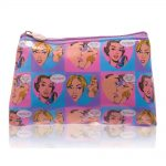 mad beauty mad beauty pop heart cosmetic bag