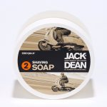 jack dean professional shaving system step two – shaving soap 200g