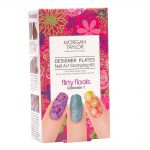 morgan taylor designer plates nail art stamping kit – flirty florals collection