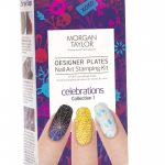 morgan taylor designer plates nail art stamping kit – celebrations collection