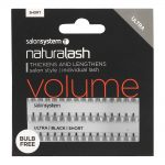naturalash salon system individual lash ultra black short