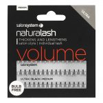 naturalash salon system individual lash ultra black medium
