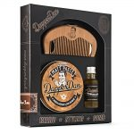 dapper dan 'hairy man' beard and styling combo gift set