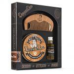 dapper dan 'hairy man' beard and styling combo gift set