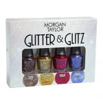 morgan taylor nail lacquer little miss nutcracker collection mini glitter pack 4 x 5ml