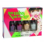 morgan taylor nail lacquer little miss nutcracker collection mini pack 4 x 5ml