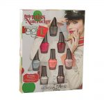 morgan taylor nail lacquer little miss nutcracker collection mini pack 8 x 5ml