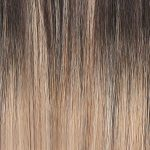 beauty works celebrity choice slim line tape hair extensions 20 inch – smoke 48g